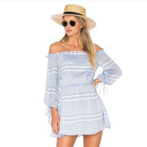 Lovers + Friends XREVOLVE Get Lost Dress Blueberry